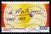 Postage Stamp France 1998 Discovery Of Radium