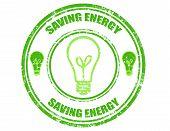 Saving Energy-stamp
