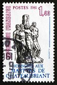 Postage Stamp France 1981 Martyrs Of Chateaubriant, Monument