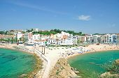Beach of Blanes,Costa Brava,Spain
