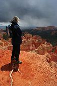 Overlooking Bryce Canyon