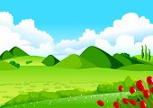 pic of common  - This illustration is a common natural landscape - JPG