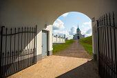Intercession nunnery orthodox monastery of Tervenichi, Russia