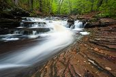 Ricketts Glen State Park Pennsylvania Waterfall
