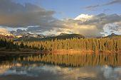 image of mola  - Molas lake and Needle mountains - JPG
