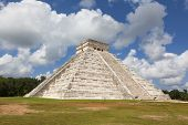 Kukulkan temple. Chichen Itza. Mexico