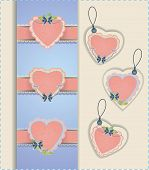 Heart Labels Collection