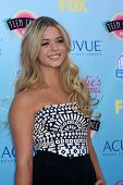 LOS ANGELES - AUG 11:  Sasha Pieterse at the 2013 Teen Choice Awards at the Gibson Ampitheater Unive