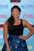 LOS ANGELES - AUG 11:  Jenna Ushkowitz at the 2013 Teen Choice Awards at the Gibson Ampitheater Universal on August 11, 2013 in Los Angeles, CA