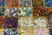 Colourful gemstones