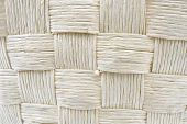 Woven Straw Pattern Texture