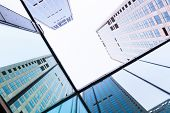 Office Building Towers in financial Central Business District