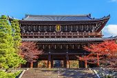 Sanmon - The Main Gate At Chioin Temple in Kyoto
