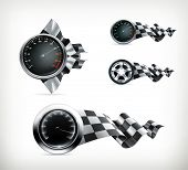 Racing emblems, bitmap copy