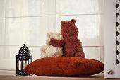Two Embracing Teddy Bears
