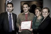 Delivery of the prize Fitur Antonio Campesino, manager Zamoranatural in 2014 fitur