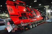 M-41 Boat On Display At The Los Angeles Boat Show On February 7, 2014 At The L.a. Convention Center