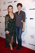 LOS ANGELES - JAN 28:  Rose McIver, Elvy Yost at the