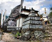 Prayer Walls - Way To Everest Base Camp - Khumbu Valley - Nepal