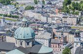 The Salzburg Cathedral (salzburger Dom) At Salzburg, Austria
