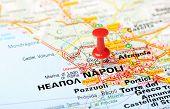 Napoli  Italy Map