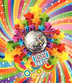 Disco Party Vector Illustration