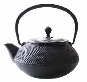 Chinese traditional teapot isolated on white