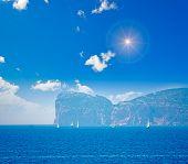 Boats In Capo Caccia