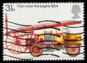 Britainfire Engine Postage Stamp