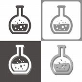 Chemistry Tube Vector Icon