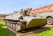 Soviet Armored Vehicle 9P149 Of 9K114 Shturm-s Anti-tank Complex