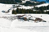 Mountain Restaurant In Saalbach Hinterglemm Region