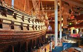 Main Hall Of Vasa Museum In Stockholm, Sweden