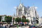 Gothic Saint-urbain Basilica In Troyes, France