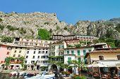 Urban Center Of Town Limone Sul Garda, Lake Garda