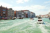 Water Transport In Grand Canal, Venice