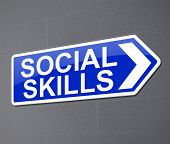 Social Skills Concept.