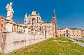 Polirone Abbey in San Benedetto Po, Italy