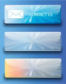 Web buttons contact us