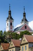 Church And Hermitages In Camaldolese Monastery In Wigry, Poland