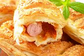 detail of sausage roll