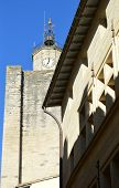 View on Uzes France