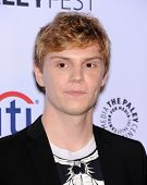 LOS ANGELES - MAR 28:  Evan Peters arrives to the Paleyfest 2014: American Horror Story COVEN  on Ma
