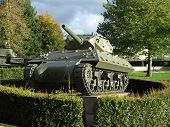 US tank destroyer M10, Bayeux, Normandy