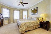 Light Tones Bedroom Interior