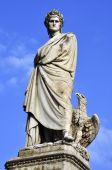 Dante Alighieri's Sculpture In Florance
