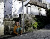 Old Ivatan Woman Chavayan Philippines