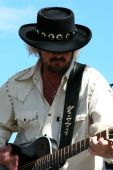 Donnie Van Zant Of 38 Special Preforming At Celebrate Fairfax, Fairfax, Va, June 15 2006