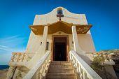 image of gozo  - Malta Gozo Island Dwejra small catholic church - JPG