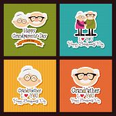 picture of special day  - abstract grandparents day background with special objects - JPG